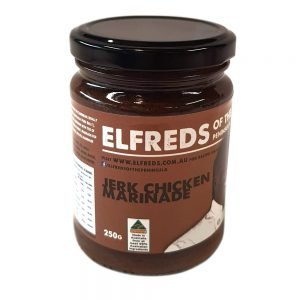 elfreds of the Peninsula Jerk Chicken Marinade