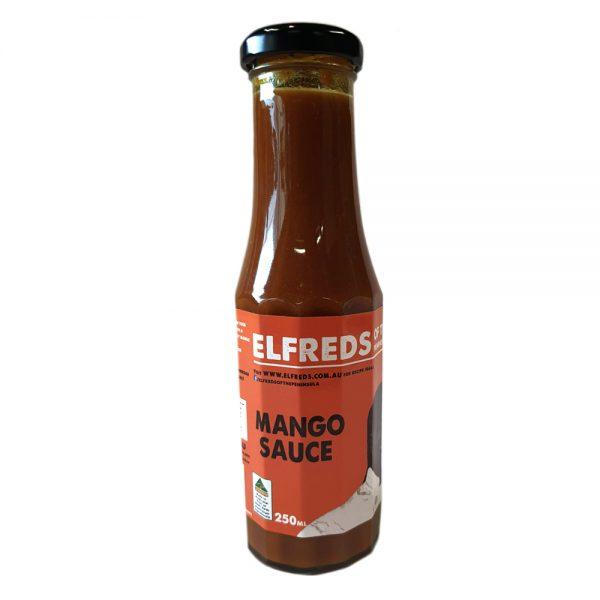 elfreds of the peninsula Mango Sauce