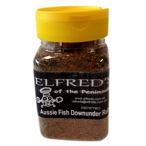 elfreds of the peninsula Aussie Fish Downunder Rub