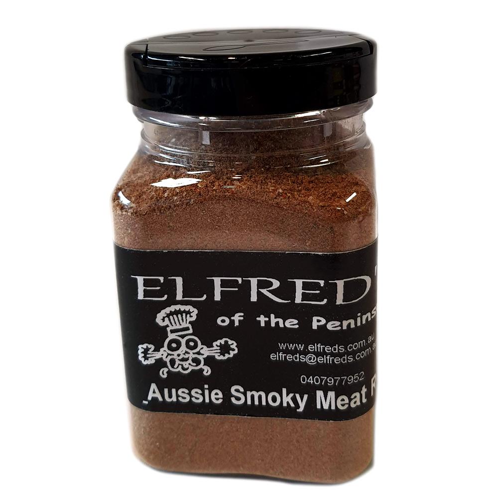 elfreds of the peninsula Aussie Smokey Meat Rub