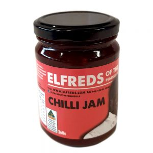 elfreds of the Peninsula Chilli Jam