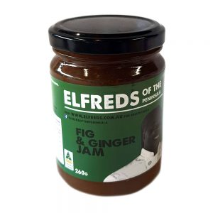 elfreds of the peninsula Fig and Ginger Jam