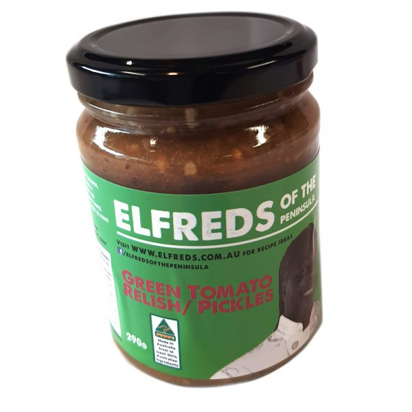 elfreds of the Peninsula Green Tomato Pickle