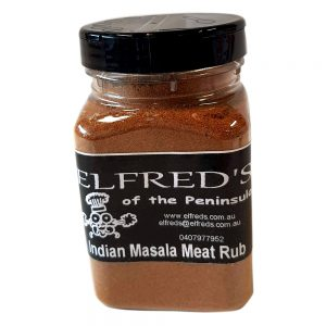 elfreds of the Peninsula Indian Masala Meat Rub