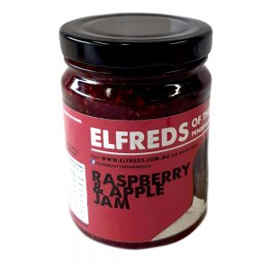 elfreds of the Peninsula Raspberry and apple jam