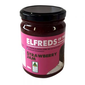 elfreds of the Peninsula Strawberry Jam