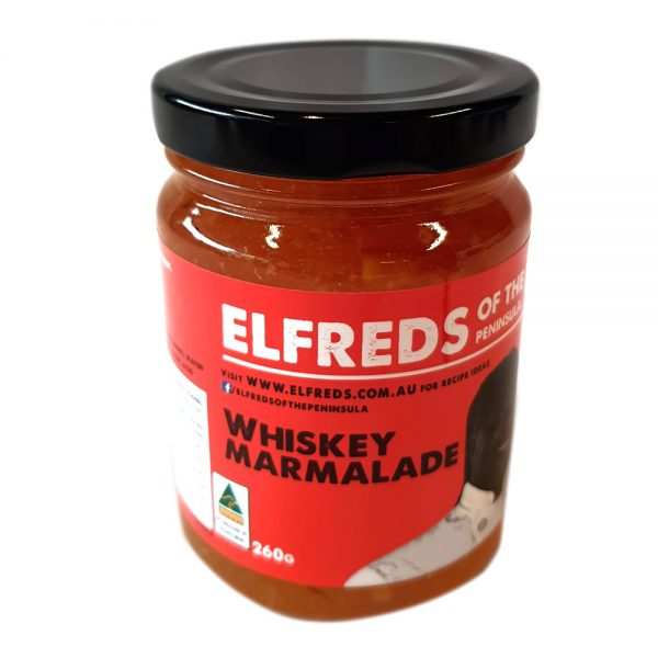 elfreds of the Peninsula Whiskey Marmalade