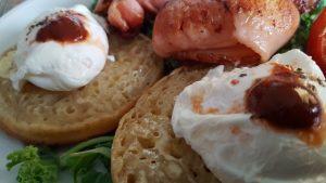 HABANERO CHILLI SAUCE on Poached Eggs