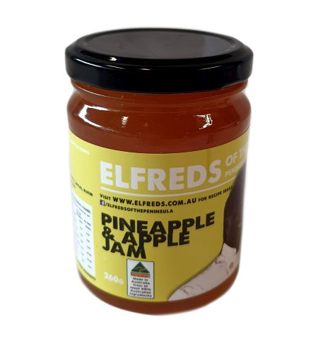 elfreds of the Peninsula Pineapple and Apple Jam